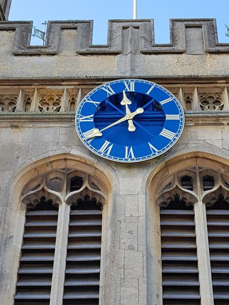 Newbury clock face